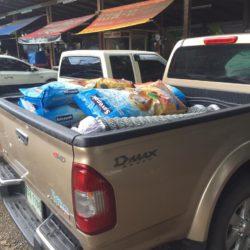 Heute konnte Happy Dogs Koh Chang Dank Ihren Spenden 80 Kg Futter kaufen!
