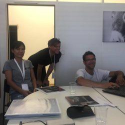 Dr. Tookta Wipavee an der Schulung für das neue Röntgengerät