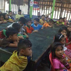 Unterrichtsstunde an der Kambodschanischen Schule