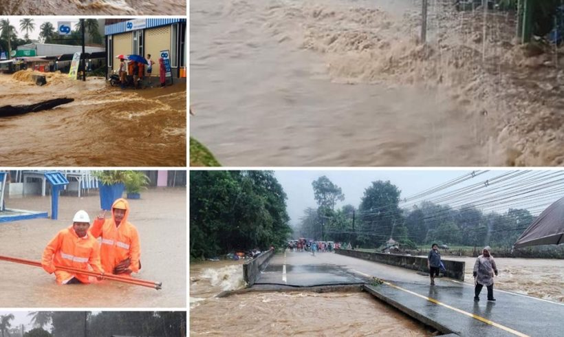 Notstand auf Koh Chang – Sinnflutartiger Regen